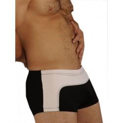 GBGB Mel Boxer Swim Swimwear Black/White (T1104)