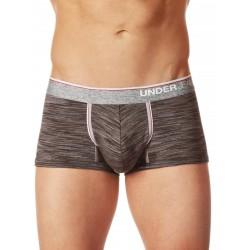 Junk Underjeans UJ Crux Trunk Underwear Charcoal (T5607)