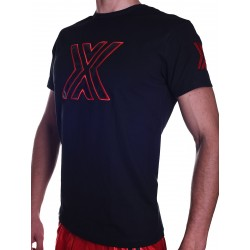 BoXer X-Patent T-Shirt Charcoal/Red (T5581)