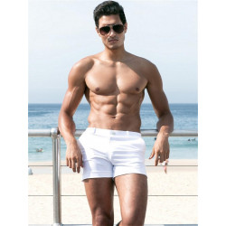 2Eros Bondi Bar Beach Swim Shorts White