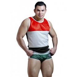 GBGB Noah Mesh Shorts Green