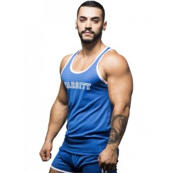 Andrew Christian Varsity Mesh Tank Top Royal