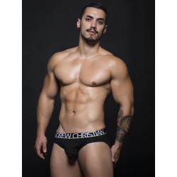 Andrew Christian Almost Naked Tagless Cotton Brief Underwear Black