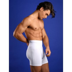 Rounderbum Slim Fit Boxer Brief Underwear White