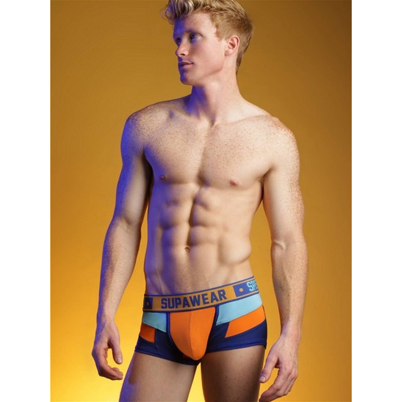 Supawear Spectrum Trunk Underwear Blazing Orange (T6003)