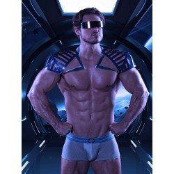 Rounderbum Spacelight Mesh Lift Boxer Trunk Underwear Grey (T5984)