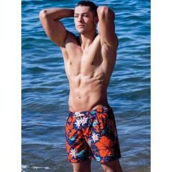 2Eros Print Swim Shorts Tahiti (T6104)