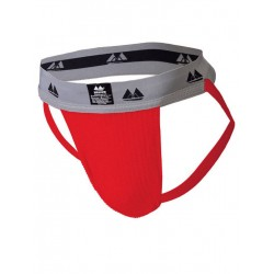 MM The Original Jockstrap Underwear Scarlet/Grey 2 inch