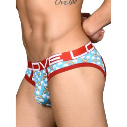 Andrew Christian Love Pride Rainbow Locker Room Jock Jockstrap Underwear (T6547)