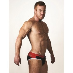 Mister B URBAN Malta Swim Briefs Red