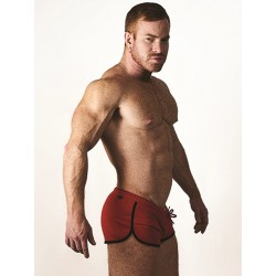 Mister B URBAN Ibiza Shorts Red