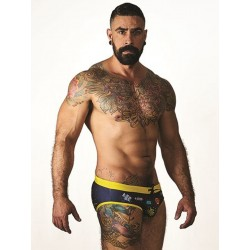 Mister B URBAN Sitges Swim Brief Black/Yellow