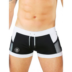 TOF Paris Miami Swim Shorts Swimwear Black (T7120)