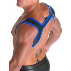 665 Neoprene Slingshot Harness Black/Blue (T3317)