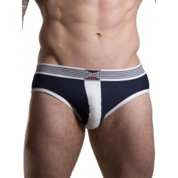 GBGB Theo Brief Underwear Navy/White (T7051)