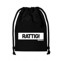 BenSWild BigBag `Rattig!` Black/White (T7158)