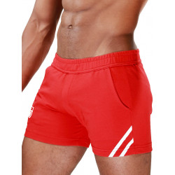 TOF Paris Shorts Red/White