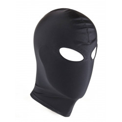 RudeRider Elastane Hood Eyes Open Black