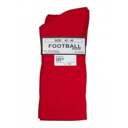 MisterB Football Socks Red (T6955)