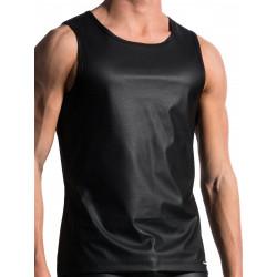 Manstore Slim Tank M104 T-Shirt Black (T7440)