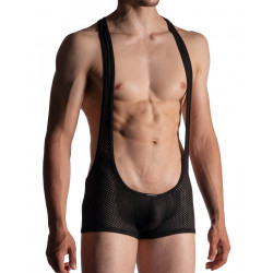 Manstore Wrestler Body M955 Underwear Black (T7509)