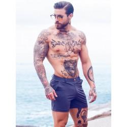 2Eros Bondi Bar Beach Swim Shorts Charcoal