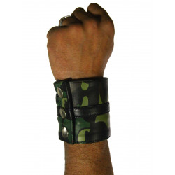 RudeRider Wrist Wallet Leather Camo
