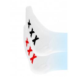 Sneak Freaxx Amsterdam Socks #2 White One Size (T7648)