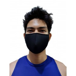 GB2 Designer Face Mask Black One Size