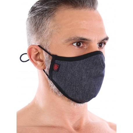 ToF Paris Denim Seamless Mask w. 2 Filters (T7711)