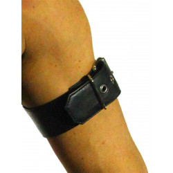 RudeRider Arm Band 2-Pack Soft Leather Black/Black (T7323)