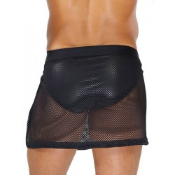 TOF Mesh Skirt Black (T7905)