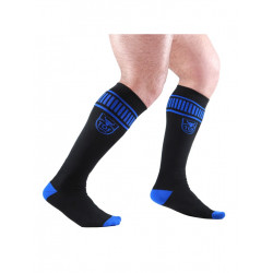 TOF Paris Football Socks Black/Blue (T7146)