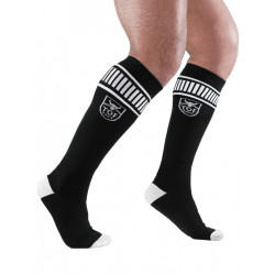 TOF Paris Football Socks Black/White (T7143)