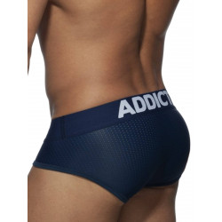 Addicted Push Up Mesh Brief Underwear Royal Blue (T8005)