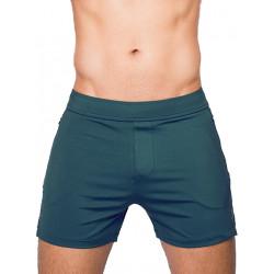 Supawear Nexus Running Shorts Dark Green (T8103)
