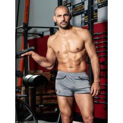 TOF Camo Gym Shorts Grey (T8175)