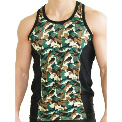 GB2 Aron Training Tank Top Camo/Black (T4394)