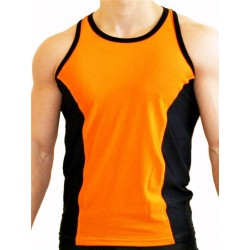 GB2 Aron Training Tank Top Orange/Black (T4397)