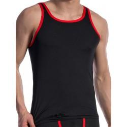 Olaf Benz Carreshirt T-Shirt RED1604 Black/Red (T4724)