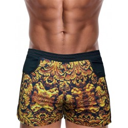 Danny Miami God Of Kings Beach Shorts Multi