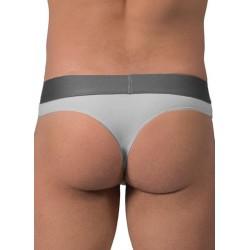 Rounderbum Thong Underwear Grey