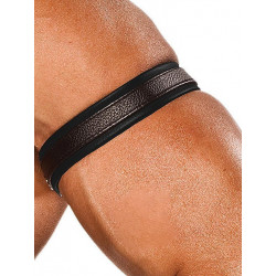 Colt Leather Bicep Strap - Black (T0103)