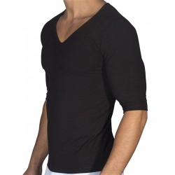 Rounderbum Padded Muscle T-Shirt Black