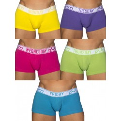 Rounderbum Bright Lift My Day 5-Pack Underwear Multicolor (T4829)