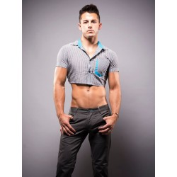 Andrew Christian Snip Shirt Grey