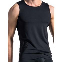 Manstore Slim Tank Top M103 T-Shirt Black