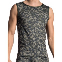 Olaf Benz Tank Top RED1706 Camouflage (T5416)