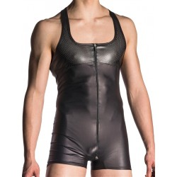 Manstore Zipped Body M700 Underwear Black