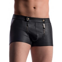 Manstore Zipped Pants M715 Underwear Black (T5523)